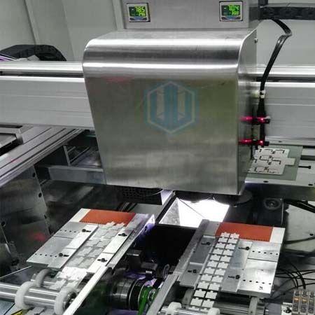 FPC吸贴式胶纸机定位贴合系统
