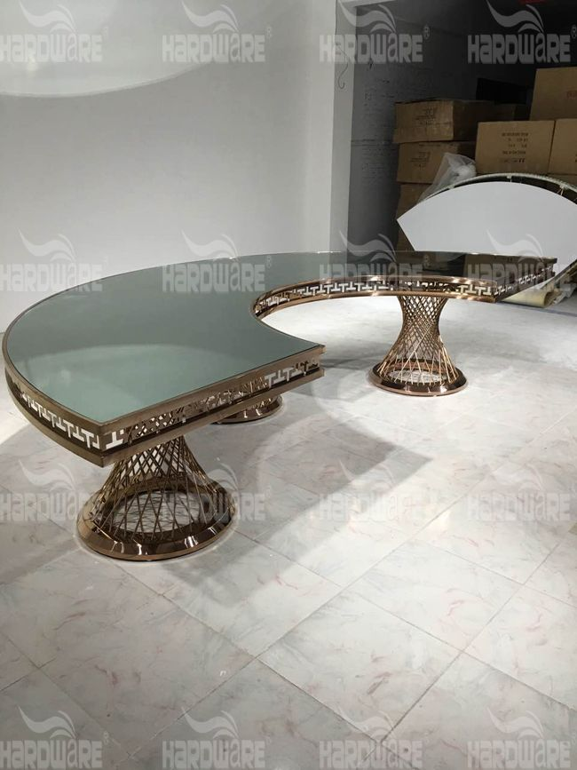 mirror dinning table,hardware