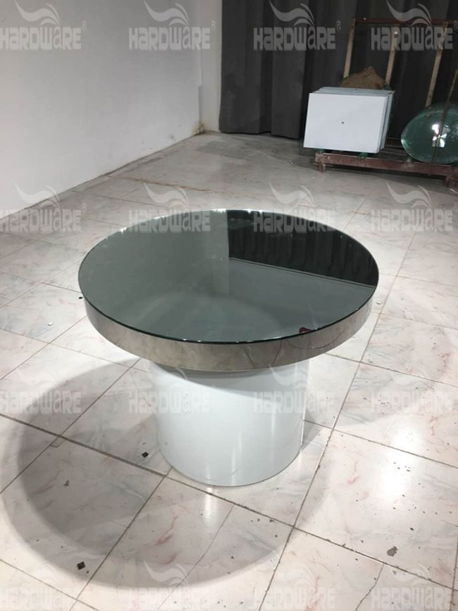 mirrored dining table,hardware